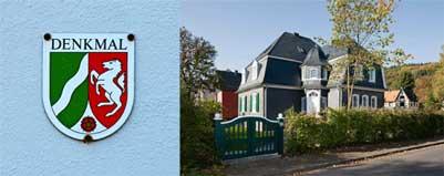 restaurierte Gründerzeitvilla mit Schiefer-FAssade