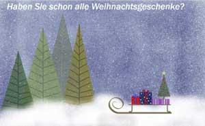 Bald ist Weihnachten.